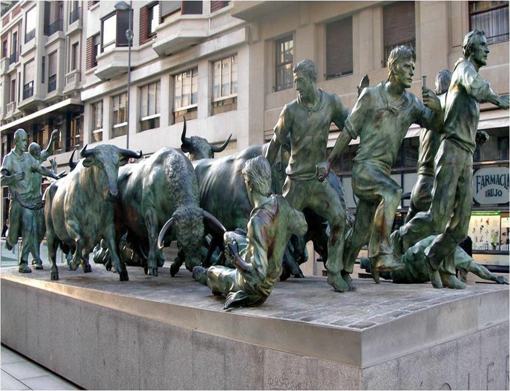 las esculturas urbanas