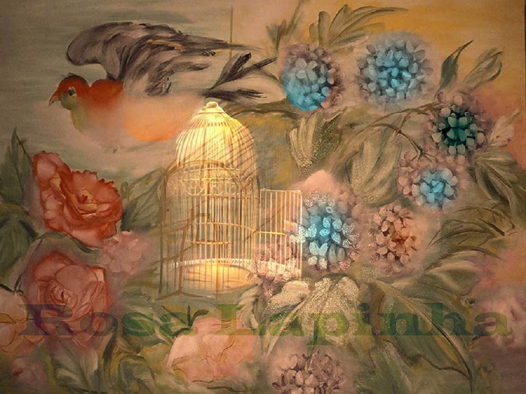 Rosa Lapinha - pinturas y poemas