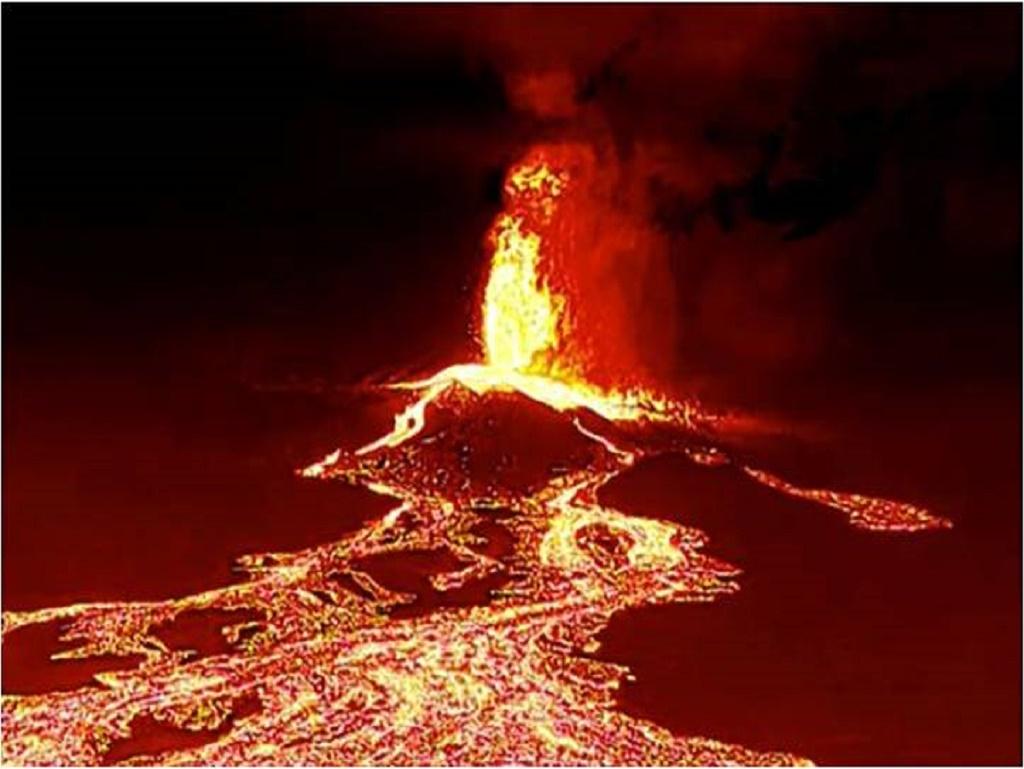 volcan de la isla de palma